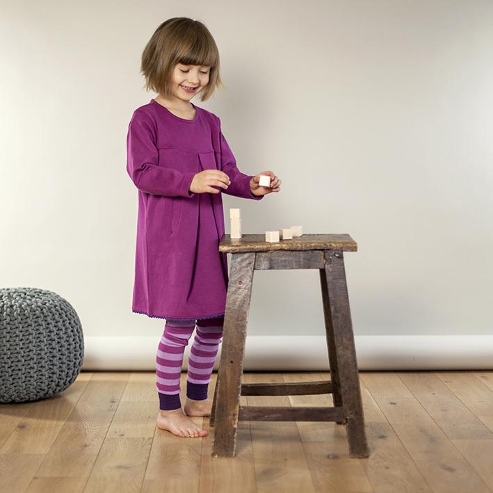 pink rosa gestreift kindermode online kaufen im ranina shop. Black Bedroom Furniture Sets. Home Design Ideas
