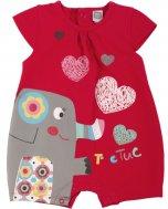 TUC TUC, Kurzer Schlafanzug/Spieler und Wäschesäckchen, TUC TUC & FRIENDS