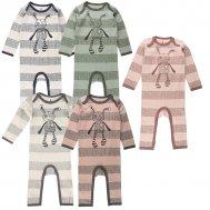 Small Rags – Strampler/Schlafanzug gestreift