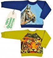 baba Sweatshirt Tiger/Pferd