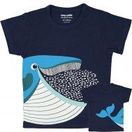 coq en pâte T-Shirt, Blauwal