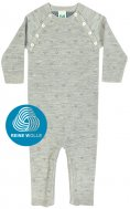 FUB AW16 Baby Strampler (Bodysuit), (Merinowolle)