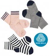FUB AW17/18 Kids und Damen Extrafeinstrick Socken, (Merinowolle)