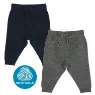 FUB AW18 Baby Strickhose, Texture Pants (Merinowolle))