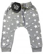 funky legs - Baggy Jerseyhose Sterne