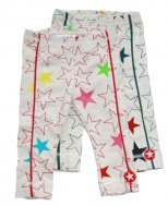 "KIK*KID Baby Bio-Baumwoll Leggings ""Melee Big Star"""