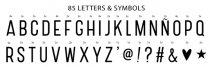 A little lovely company - Letter Set Basic
