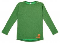 ZEZUZULLA Langarmshirt, green mel