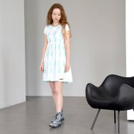 ZEZUZULLA Kleid Woman Turquoise Grain Me'W Dress